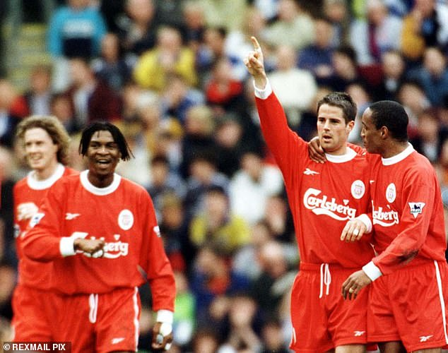 Reds stars jokingly questioning his price tag after the fall but he enjoyed 11 years at Anfield