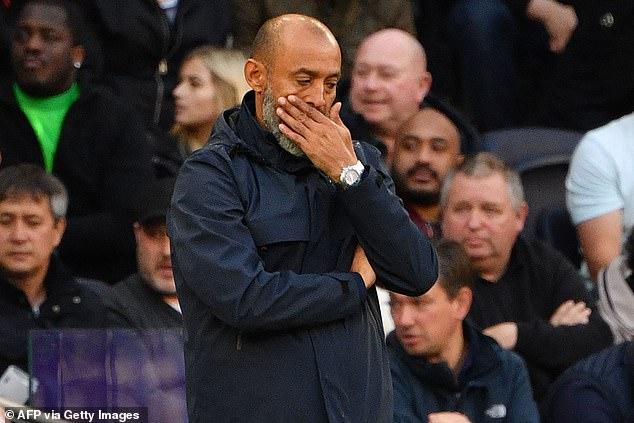 Tottenham have had trouble creating chances this season under new boss Nuno Espirito Santo