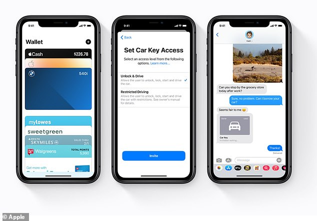 The expansion of CarPlay will be the latest auto-related initiative from the iPhone giant.  In 2020, Apple's iOS 14 gave users the ability to unlock, lock, and start their cars with an iPhone or Apple Watch, a device known as CarKey.