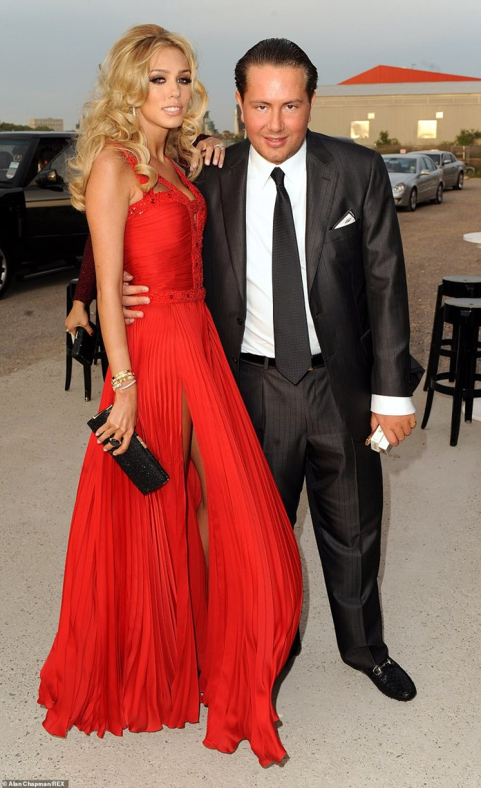 Taxpayer-backed NatWest is facing a fine of up to £340 million today after admitting that it linked Bradford to businesses run by Petra Ecclestone's ex-husband James Stunt (pictured together before their divorce). Failed to find Gold dealer.