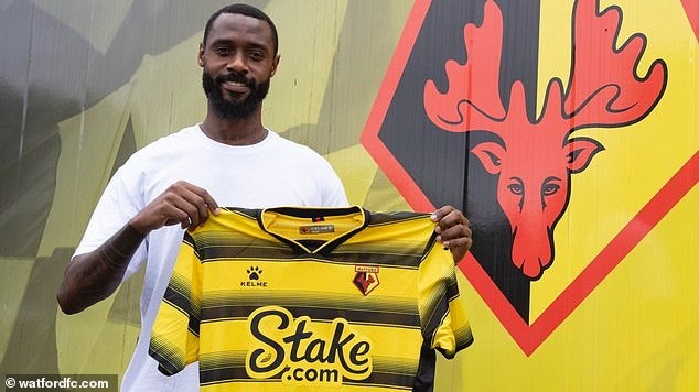Watford have signed defender Nicolas Nkoulou on a deal until the end of the season