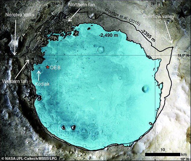 , Mars' Jezero crater was a quiet lake 3.7 billion years ago, The Today News USA