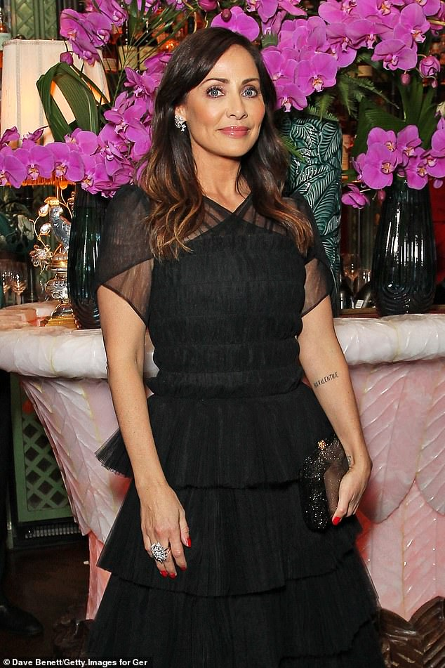 Style: The event also featured singer Natalie Imbruglia, 46, who looked great in a black outfit.