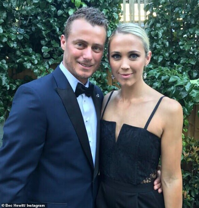 Home sweet home: Lleyton and Bec Hewitt (pictured) are rumoured to be the proud new owners of a stunning home in Burleigh Heads, on the Gold Coast