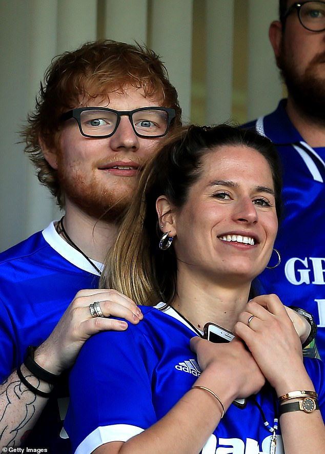 Oh Dear: Ed Sheeran Reveals That His Wife Cheri Seaborn Was So Shocked When He Proposed To Him He Asked 'Are You Kidding?'  (pictured in 2018)