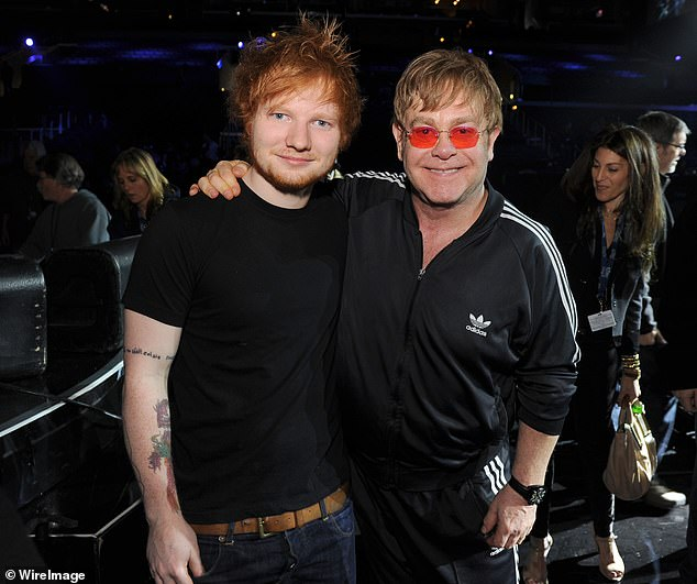 Wow!  The revelation comes after news that Ed would release a Christmas song with Elton John