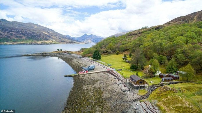 Ardintigh Bay is 47 miles from Fort William on Scotland's north west coast and boasts stunning sea and mountain views