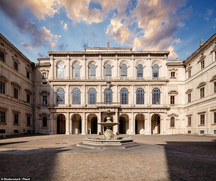 The 17th-century Palazzo Barberini, an 'under-visited gem' five minutes' walk from the Spanish Steps