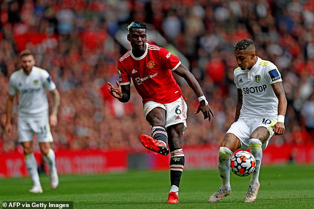 Pogba began the season in style, claiming four assists on the opening weekend against Leeds