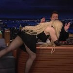 Madonna, 63, flashes her bottom and gyrates on Jimmy Fallon's desk on the Tonight Show 💥👩💥