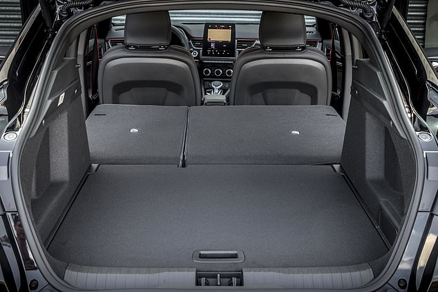 Space: The infotainment system includes a 9.3 in touchscreen, while load-lugging owners will enjoy 513 liters of boot space.