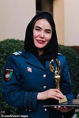 , Top female Afghan cop makes dramatic escape from Afghanistan after being hunted by the Taliban, The Today News USA