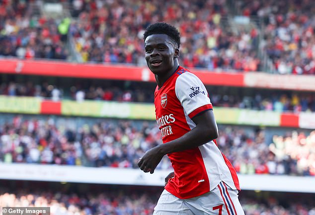 Bukayo Saka has been one of Arsenal's stand-out consistent performers this year