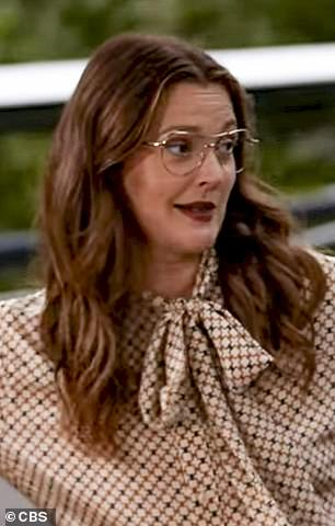 Legendary: Drew Barrymore (pictured) heaped praise on the star as her audience cheered, proving the clip's enduring popularity