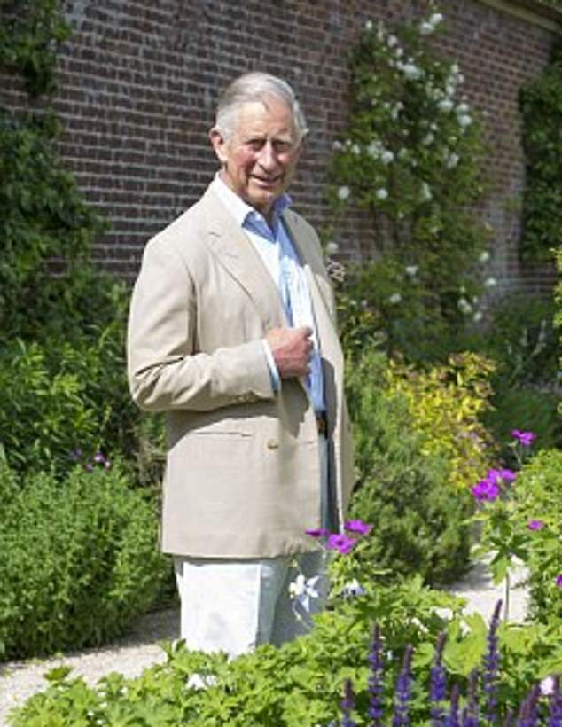 Prince Charles (pictured) has dropped his ambitious vision for a new Highgrove on a country estate in Herefordshire, nearly two decades after he first drew up plans for it
