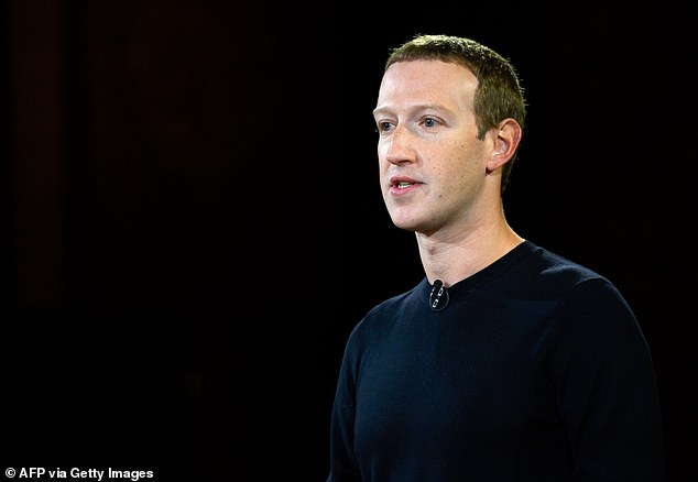 Mark Zuckerberg on Tuesday evening defended his company, saying it was 'frustrating' to see a 'false picture' of Facebook being painted by Haugen