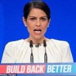 Priti Patel plans 888 number for worried women 💥👩💥