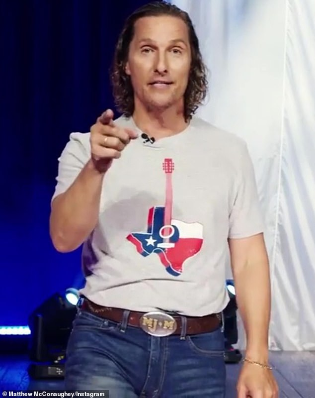 Debate with himself:Matthew McConaughey is still unsure about a career in politics