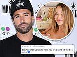Brody Jenner congratulates his ex Kaitlynn Carter on the birth of her son Rowan