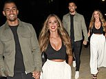 Love Island's Connagh Howard and The Circle's Beth Dunlavey put on loved-up display