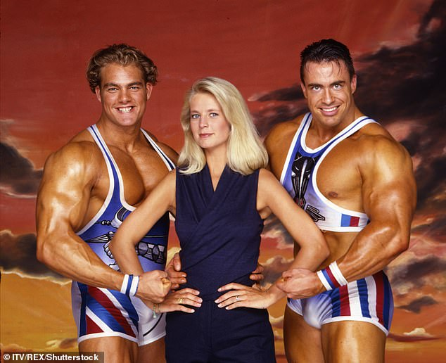 'I came home a much-changed wife': Ulrika Jonsson, 54, revealed in a column for The Sun on Saturday how her time hosting Gladiators contributed to her marriage breakdown and 'subsequent unfaithfulness'. Pictured in a promo shot for Gladiators in 1994