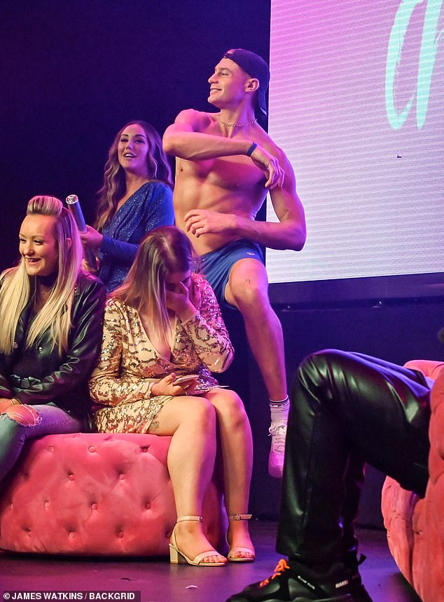 , Newly single Charlotte Crosby flaunts legs in a slinky mini dress on tour in Birmingham after split, The Habari News New York