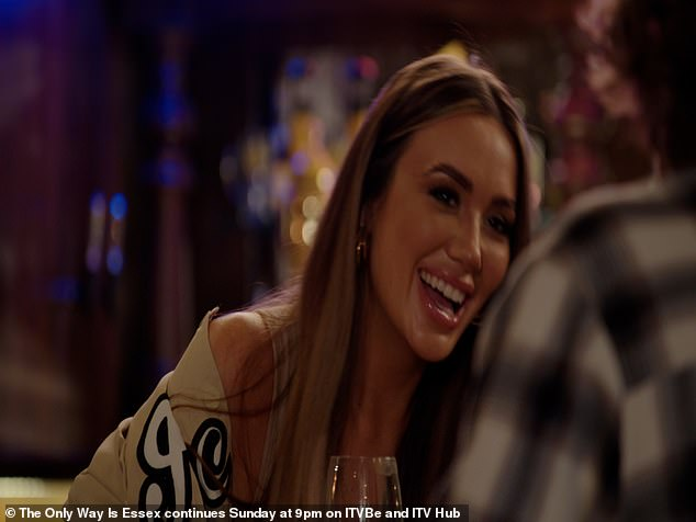 TOWIE EXCLUSIVE:Frankie Sims and Joe Garratt hit it off during a romantic date - and agree to a second