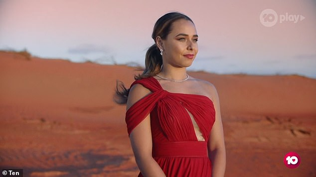 'I'm really excited about the show airing and about my relationship': It's a third time's the charm scenario for the youth worker, who previously failed to find love on Nick Cummins' season of The Bachelor in 2018 and 2019's Bachelor in Paradise