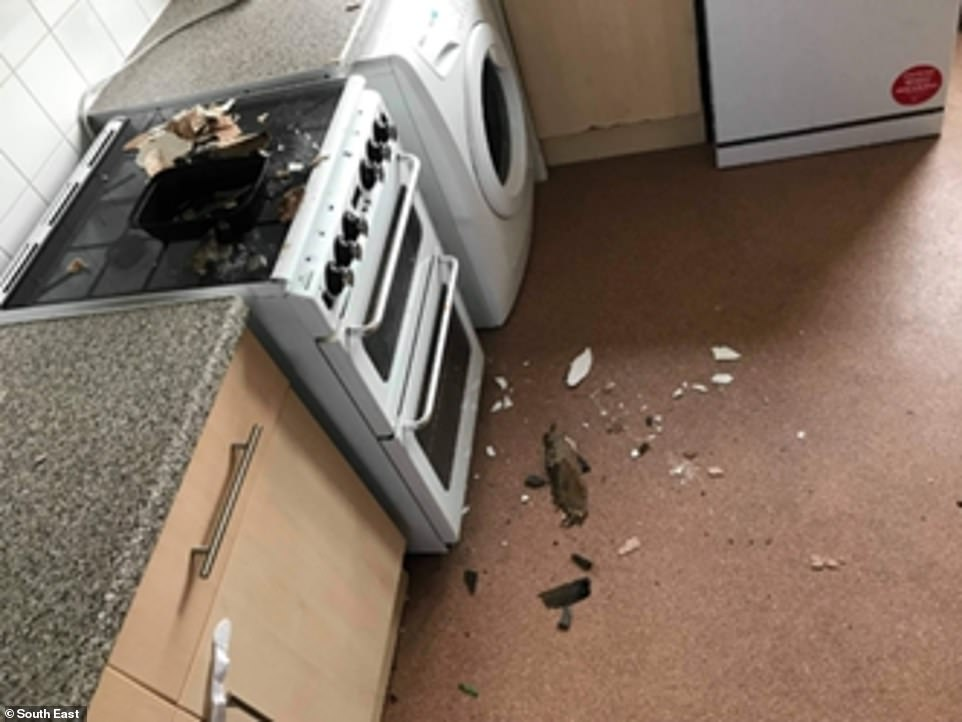 Another tenant in the south east lived in a house for four years that was eventually deemed not 'fit for purpose'. The issues included 'severe black mould' and a leaky roof