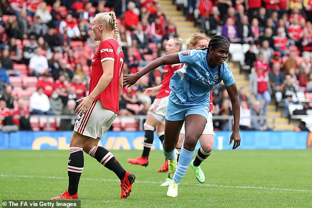City responded impressively however and went ahead minutes later through Khadija Shaw