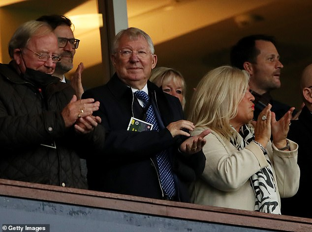 Sir Alex Ferguson was in attendance as the football legend received a cap from 1967