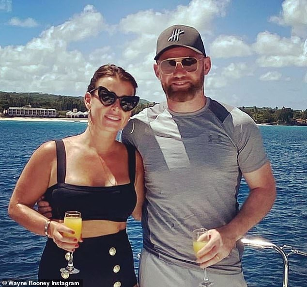 Through thick and thin:He and Coleen have been married for 13 years, with the pair celebrating their anniversary in June