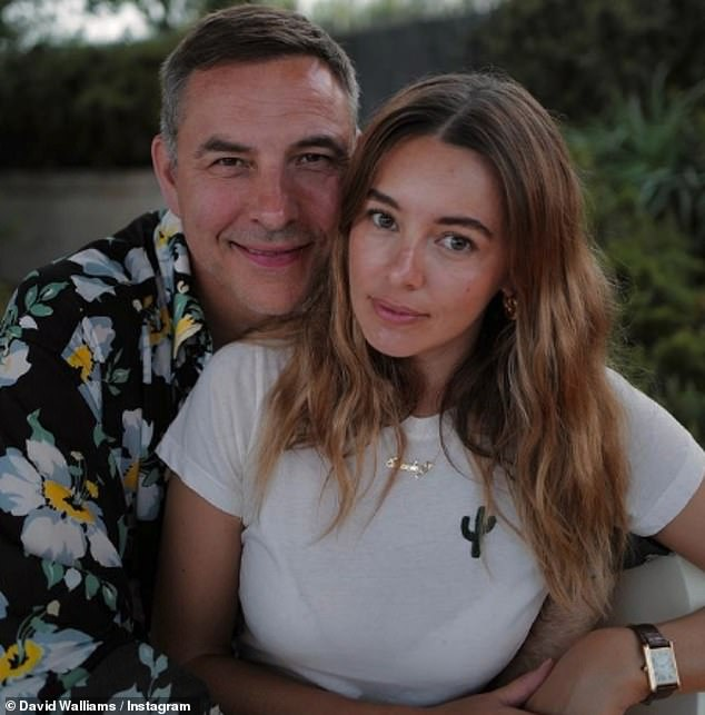 Longtime: David and Keeley have been friends for many years, with the model even moving into the BGT star's home for nine months in 2019