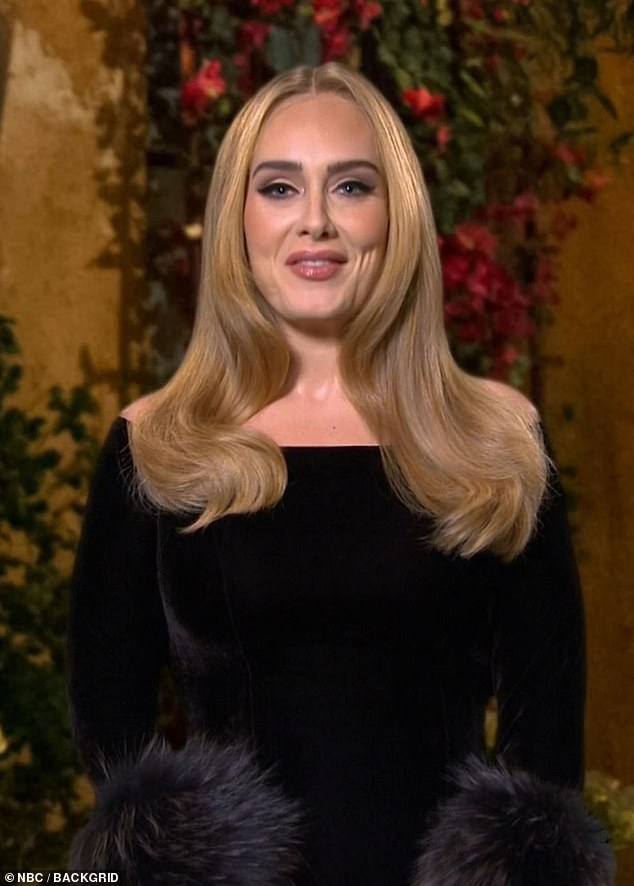 Talented: The '30' title would certainly fall in line with Adele's preferred way of naming her albums, with all three of her studio albums named after her age (pictured in 2020)
