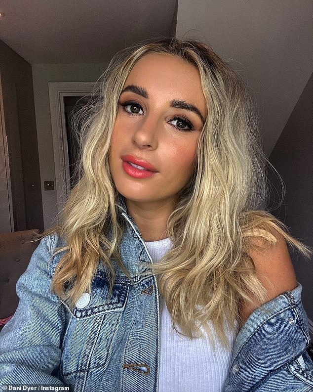 The rumours: Dani Dyer, 25, is said to have been dating West Ham's Jarrod Bowen, 24, after the footballer was reportedly spotted leaving the house after being at her home overnight.
