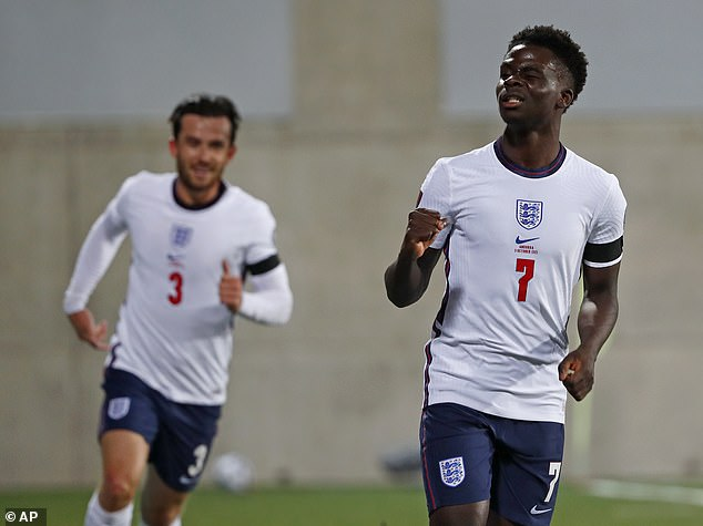 Bukayo Saka has been one of the star revelations from Southgate's era in charge of England
