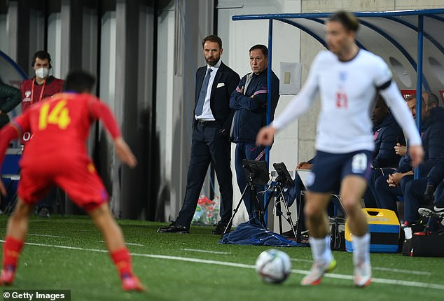 The Three Lions boss and assistant Steve Holland will look to mastermind World Cup success