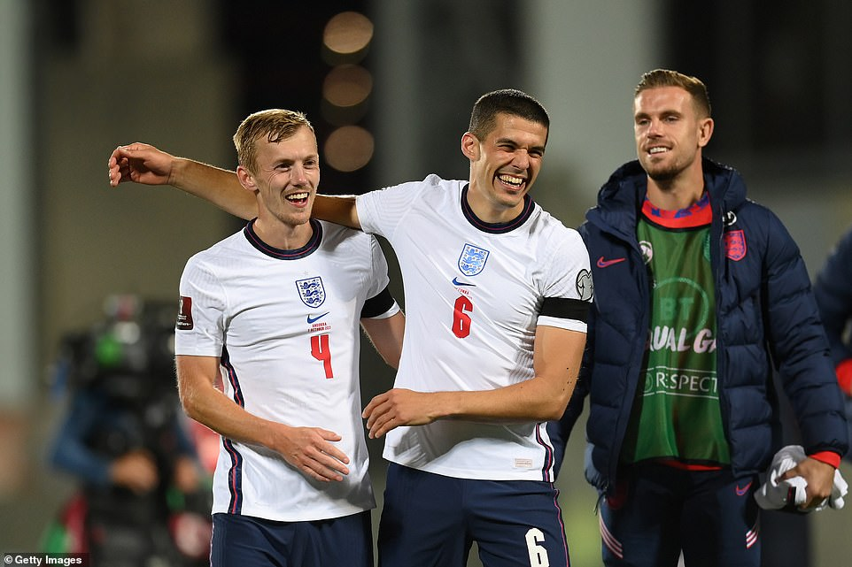 The England defence went untroubled and looked dominant from corners, as the Three Lions bagged another three points