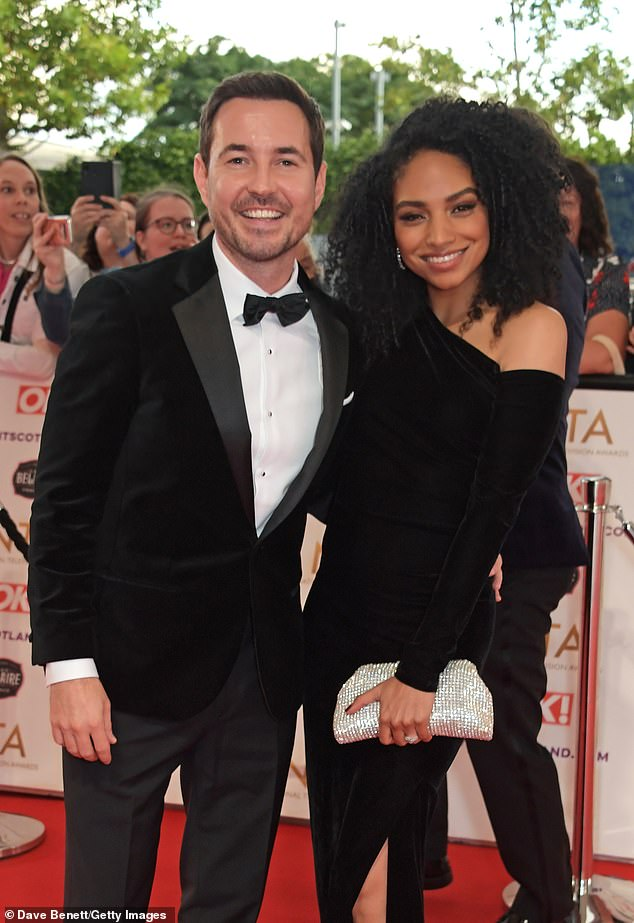 Happy Couple: The star attended the NTA's with his beautiful American wife Tianna