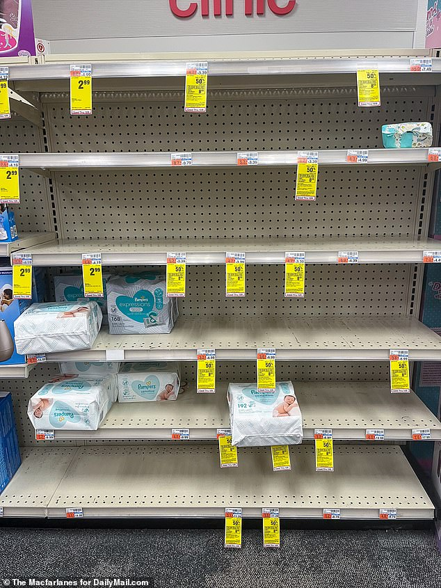 , NYC drug store shelves are left empty, The Today News USA