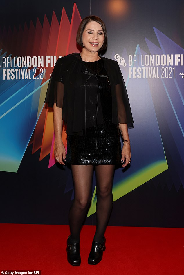 Center of Attention: Sadie Frost at the world premiere of her documentary Quant during the 65th BFI London Film Festival on Friday.