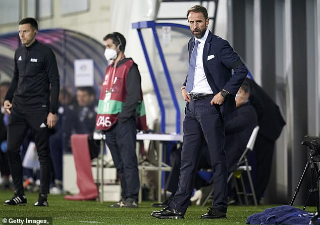 Gareth Southgate was irritated by Andorra's game plan against England on Saturday night
