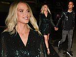 Corrie star Helen Flanagan enjoys date night with her fiance footballer Scott Sinclair