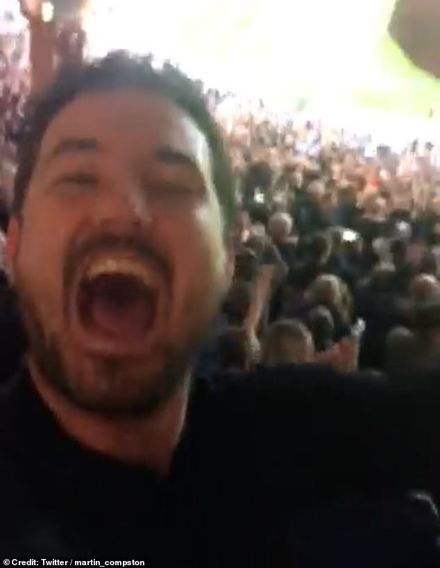 , Line Of Duty's Martin Compston cheers with elation after watching Scotland storm to victory, The Habari News New York