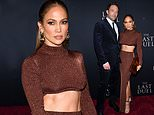 Jennifer Lopez locks lips with beau Ben Affleck at The Last Duel premiere