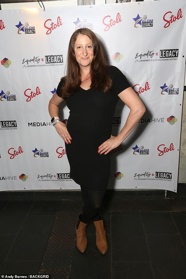 Wow!Honey G, 40, stunned onlookers as she showcased her jaw-dropping two stone weight loss in a figure-hugging black maxi dress at the Equality is Legacy Event on Sunday