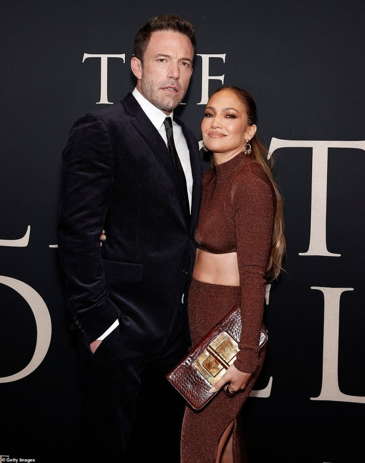 Loved up:The reunited lovebirds weren't at all afraid to show off their romance on the red carpet