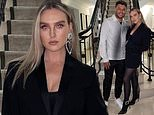 Perrie Edwards enjoys a date night with beau Alex Oxlade-Chamberlain