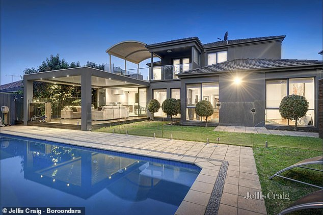 Sad to say goodbye: The former Hawthorn captain and wife Lauren bought the house in 2009
