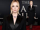 Jodie Comer is the picture of elegance as she walks the red carpet at the premiere of The Last Duel